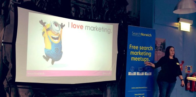 SearchNorwich 6 talk by Stacey MacNaught